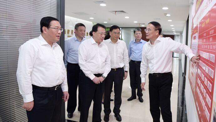 上海市城市更新中心揭牌成立,李强龚正一同调研