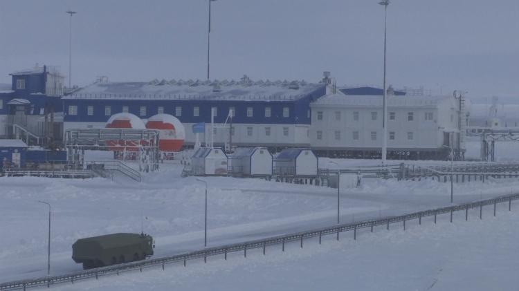 俄罗斯北极军事基地