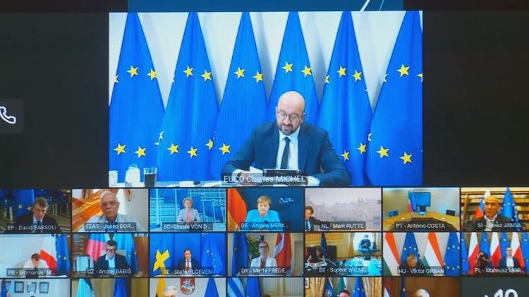 歐盟國家領導人8月19日就白俄羅斯問題舉行視頻會議