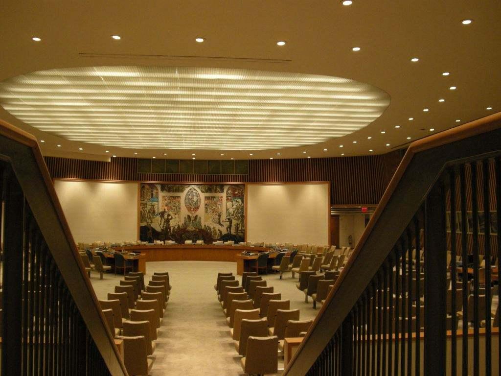 联合国安理会大厅
