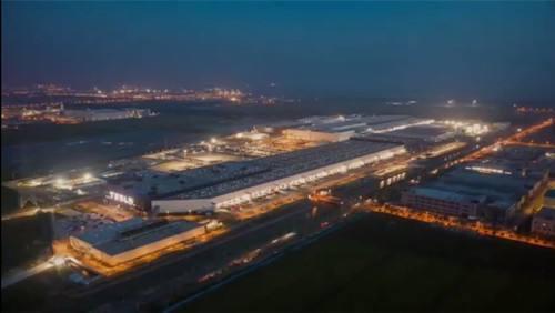 特斯拉在上海的超级工厂