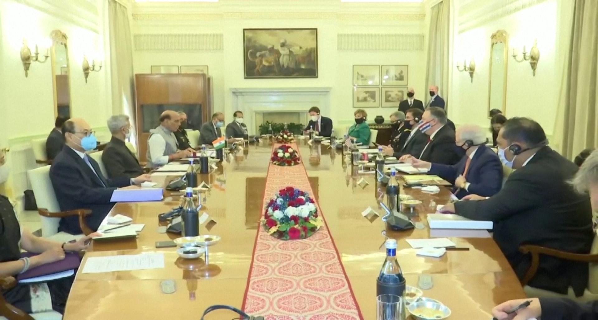 《【金牛3在线平台】视频|与美签协议 拉澳入军演 印度开始