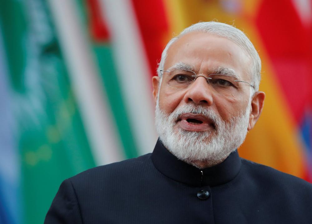 印度总理莫迪资料图