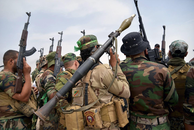 什叶派民兵武装资料图