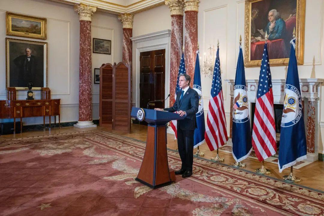 美国国务卿布林肯