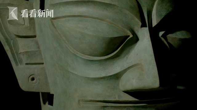 青铜人面具