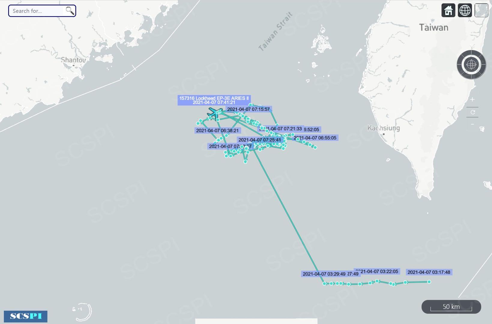 图片来源:南海战略态势感知
