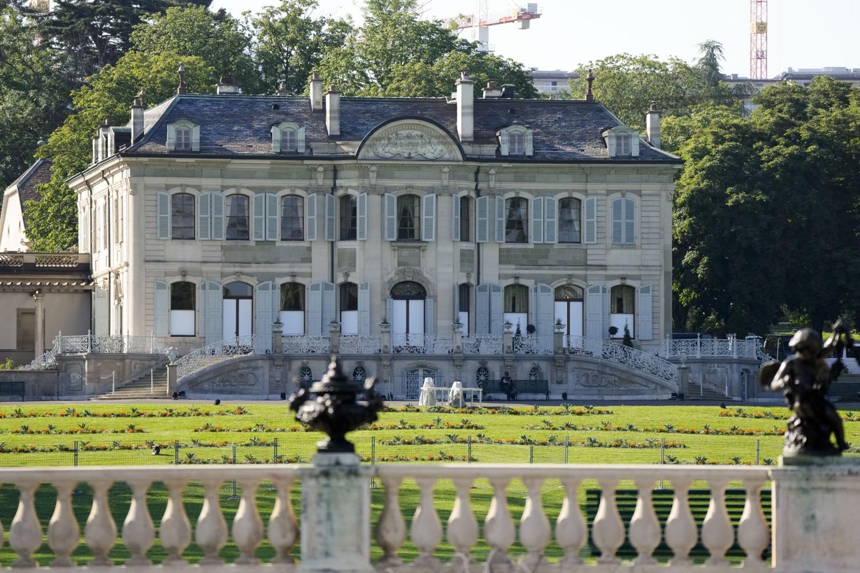 瑞士日内瓦拉格兰奇别墅(Villa La Grange, Geneva, Switzerland)