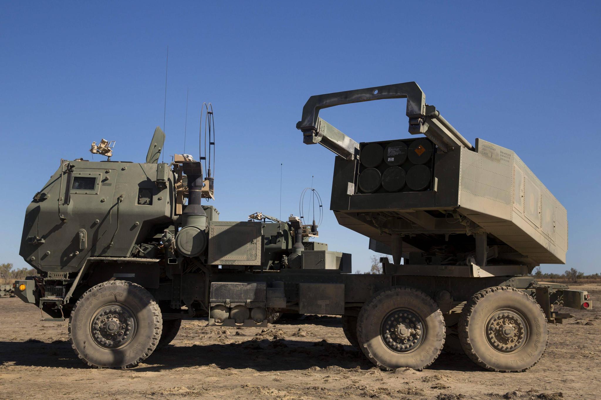 美军的海马斯多管火箭系统