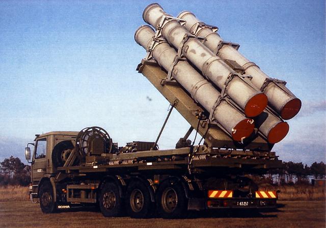 美军的岸基鱼叉Block2反舰导弹