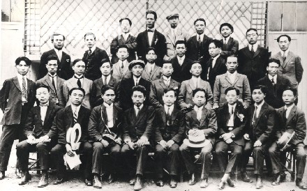 旅歐中國共產主義青年團合照