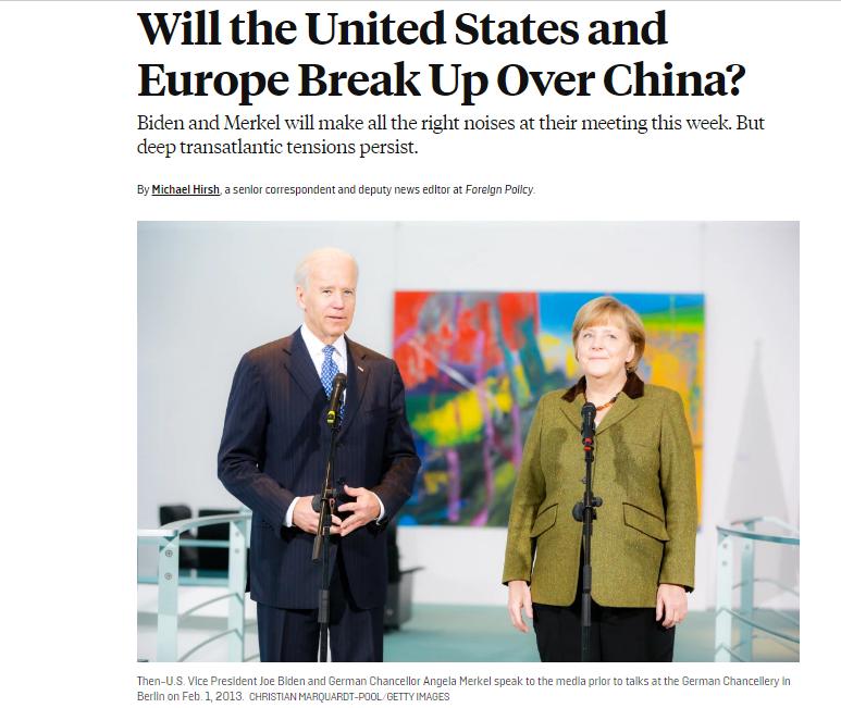 美国《外交政策》网站截图