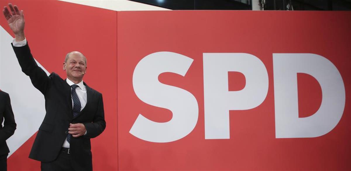 社民党总理候选人朔尔茨