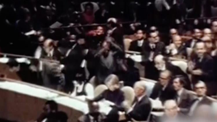 50年前的今天,联大会场沸腾了!