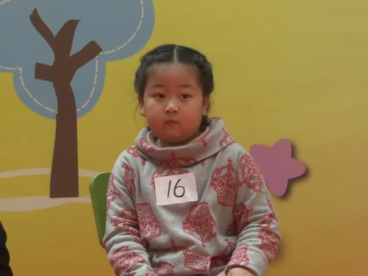 双语学校小妹妹唱英文歌