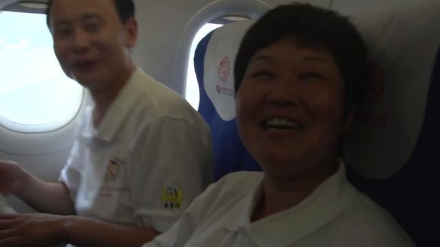 爱飞翔-第一次坐飞机