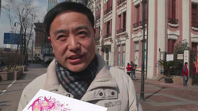 爱飞翔乡村教师培训2012上海 街头市民采访